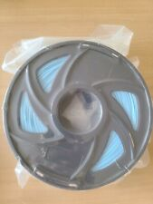 1.75mm PLA 3D Printer Filament - Glowing Blue - Glows In The Dark