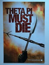 SORORITY ROW Authentic D/S Movie Poster 11.5x17 THETA PI MUST DIE