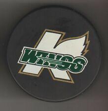 Kalamazoo K Wings Dc No Background Big K Gold Ihl Hockey Puck World Michigan