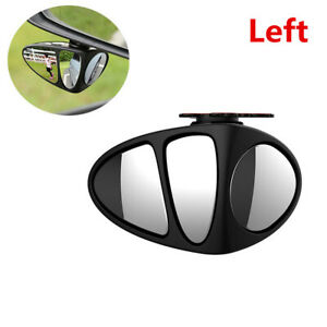 Adjustable 360° Rotation Blind Spot Wide Angle Mirror Fit For Car Main Driving