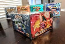 Pokemon Booster Box PROTECTIVE PLASTIC BOX(NO CARDS/BOOSTER BOX read description