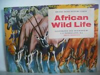 A set of 50 African Wild Life Brooke Bond cards in their respective album