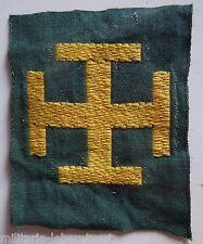 Insigne tissu PROMESSE SCOUT  France scouts  Scoutisme ORIGINAL patch 2