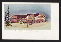 1905 Forestry building Lewis & Clark exposition Portland Oregon postcard