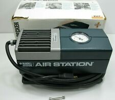 Black & Decker Air Station 9527 Portable Air Inflation Compressor Tested Working