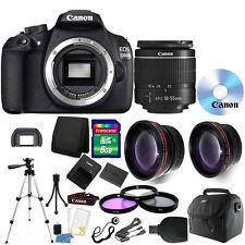 Canon EOS Rebel 1200D/T5 Digital SLR Camera + 18-55mm Lens +58mm Accessories