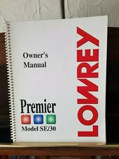 More details for lowrey premier se/30 electric organ very good condition buyer collects