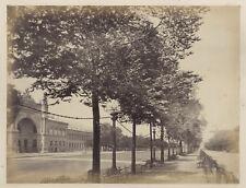 Paris Palais de l'Industrie & Notre-Dame Deux (2) Photographies Vintage Albumine