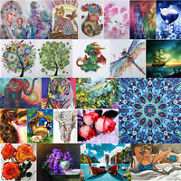 5D Diamond Painting Flower Cross Stitch Embroidery Craft Home Decor DIY Gift
