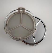 To fit Mercedes Benz Wheel Rim 1x75mm SILVER CHROME Centre cap AMG A B C E S ML
