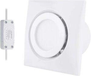 "Hon&Guan  4"" Home Ventilation Fan Garage Exhaust Fan Ceiling with 4W LED Light"
