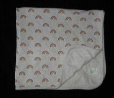 New listing Gymboree Baby Blanket Rainbow Print Jersey Knit