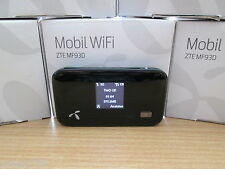 ZTE MF93D MY WiFi MOBILE BROADBAND  LTE hotspot 100Mbps  SIM FREE
