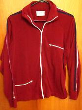ROYAL KNIGHT vtg acrylic track jacket rap athletic zip-down hip hop old-school