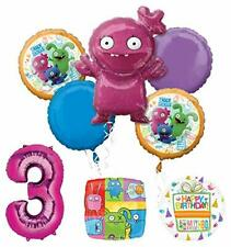 Mayflower Products Ugly Dolls 3rd Birthday Party Supplies Balloon Bouquet Decor