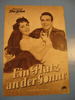 Elizabeth Taylor.P.a.d.Sonne IFB Filmprogramm 1950.Jahre.Nr.1323-Movie program