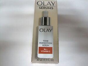 Olay Tone Pefection Serum B3+ Vitamin C - 1.3 fl oz NEW FRESH FREE SHIPPING