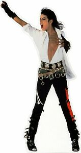 "Michael Jackson -hand up - 77"" Tall Life Size Cardboard Cutout Standee"