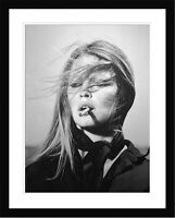 Art Print Brigitte Bardot Framed ready to hang 100cm x 78.5cm