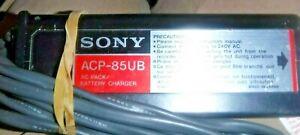 GENUINE ORIGINAL SONY AC POWER ADAPTER ACP-85UB OUTPUT 8.5V