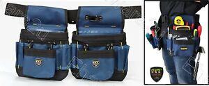 Fasite Multi Pocket Double Waist  Tools Bag (PT-N012)