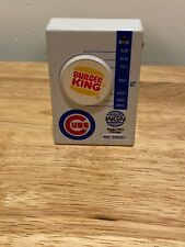 Vintage Burger King Chicago Cubs Hand Held AM Radio WGN Very Rare Advertising