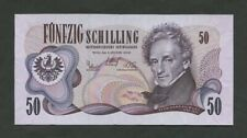 More details for austria  50 schilling  1970  krause 143  uncirculated  banknotes