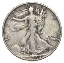 XF+ 1940-S Walking Liberty 90% Silver US Half Dollar - NICE COIN *878