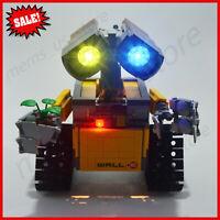 LED Light kit for LEGO Idea Robot Wall E Light Set 21303 Light Bricks New
