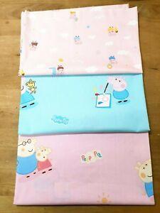 Peppa Pig Fabric Prints - 9 Design options