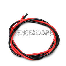 12AWG Gauge Wire Silicone Flexible Copper Black Red Stranded Cables For RC