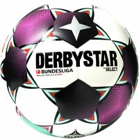 Derbystar Fußball Bundesliga Brillant Replica S-Light 2020 2021 weiß magenta