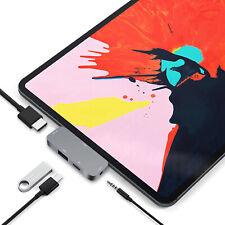 USB C HUB Type C Adapter USB C to 3.5mm headphone 4K HDMI PD Dongle for iPad Pro