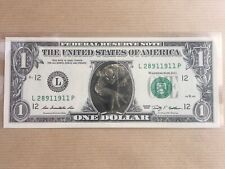Authentic BILLET DE 1 DOLLAR SPIDER-MAN Rare Neuf