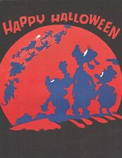 DISNEY NEWSREEL-EMPLOYEES ONLY NEWS LETTER-HALLOWEEN COVER,OCT. 30,1981