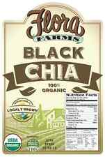 Organic Black Chia Seeds 50 LB bag (Domestically grown in Indiantown, FL)