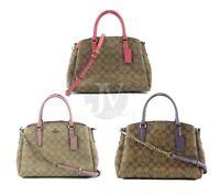 Coach (F29683) Signature Coated Canvas Sage Carryall Handbag