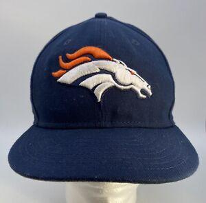 Denver Broncos 58 Von Miller New Era 9Fifty Logo Adjustable Snapback Hat Cap
