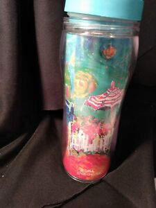 Tervis Tumblers Leoma Lovegrove 20 Oz Cup summer day bicycle riding lt blue