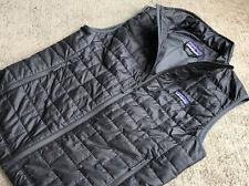 Patagonia Men's Nano Puff Vest Small Forge Grey Puffer Full Zip 84242