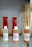 4 oz Strawberry Mango Scent Reed Diffuser Fragrance Oil Refill One Bottle