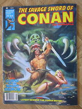 MARVEL COMICS MAGAZINE THE SAVAGE SWORD OF CONAN #48 FINE (B42)