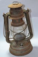 vintage lamp antique rare lantern kerosene germany oil glass handing lamps