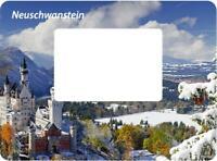 Neuschwanstein Germany Magnet Bilderrahmen 12 cm Foto Epoxid Reise Souvenir