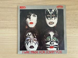 "Kiss _ I Was Made For Lovin You _ Copertina 45giri 7"" _ 1979 Casablanca Italy"