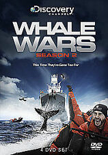 Whale Wars - Series 2 - Complete (DVD, 2010, 4-Disc Set) New sealed SKU 442