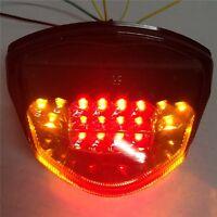 LED Tail Brake Light Turn Signals for SUZUKI GSX-R GSXR 1000 2007 2008 clear