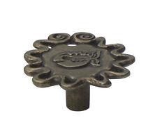 1 x Aztec FOSSIL 50 mm piranha Fish Knob Antiqued Brass Effect Pull by Swish (527)