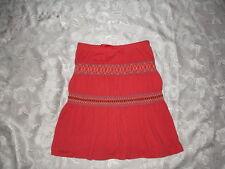 Girls GAP KIDS Orange Skirt Sz 6/7 SUMMER