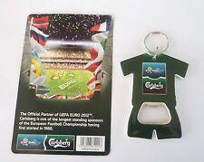 CARLSBERG BEER Malaysia BOTTLE OPENER Keychain EURO 2012 Asia Collect